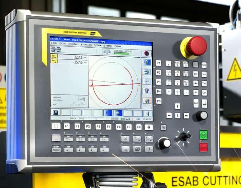 ESAB Vision51 CNC system