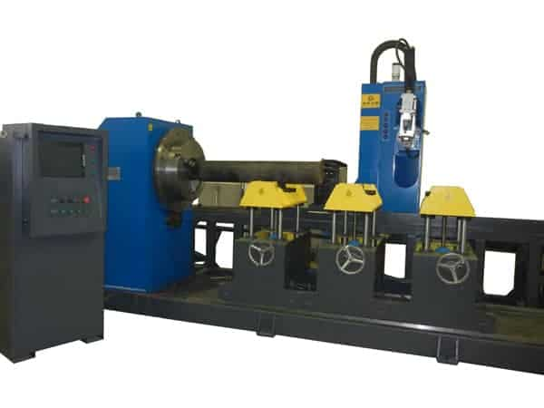 CNC-five-axis-four-linkage-intersection-Cutting-machine