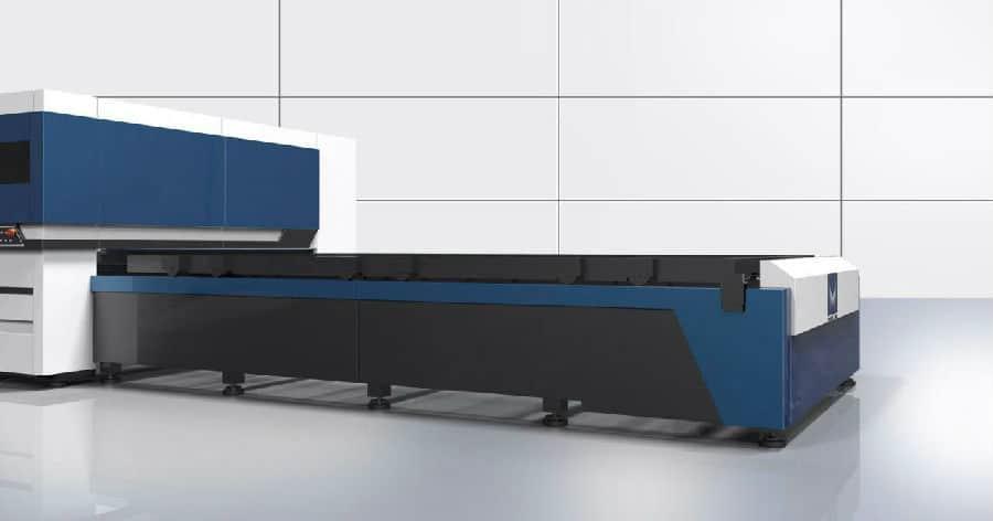 Máquina de corte a laser de fibra 4kw com controlador Beckhoff