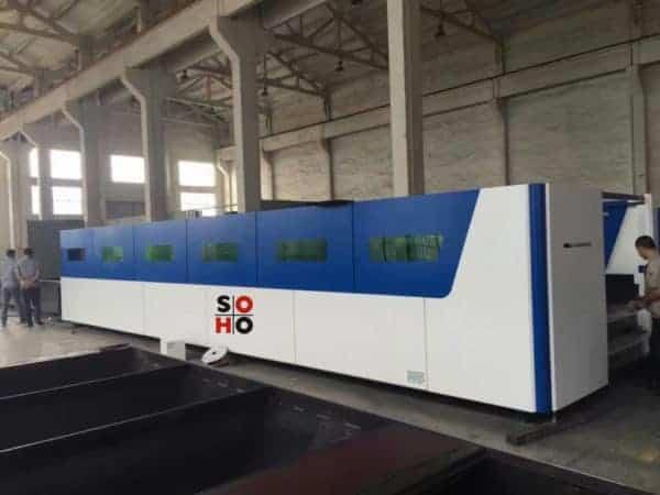 Máquinas de corte por láser de fibra 8X2.3M