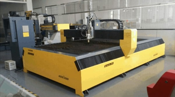cnc bench type metal sheet plasma cutting machine with hypertherm plasma source