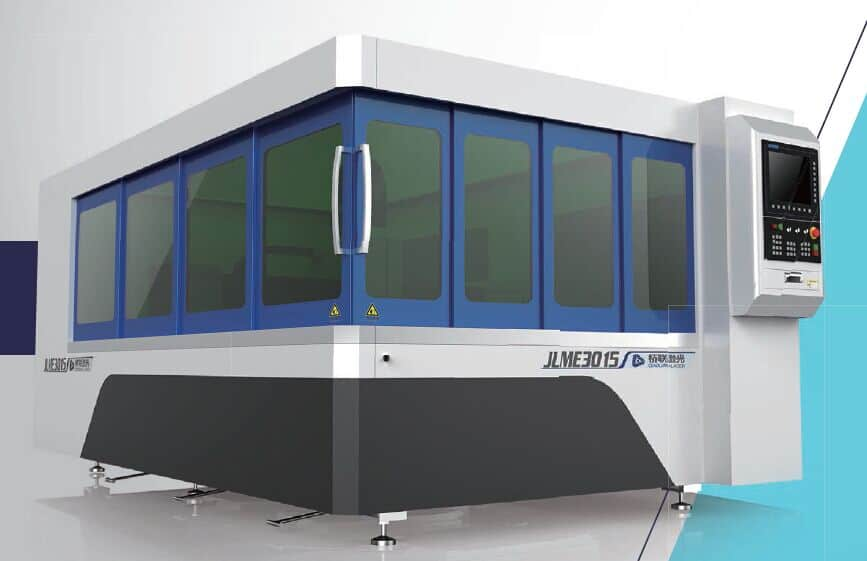 IPG 500, 1000, 1.5kw, 2kw fiber laser cutting machine with Safety Cabinet