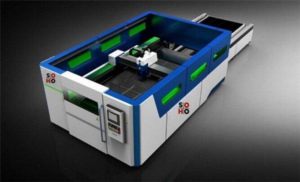 Novo tipo de máquina de corte a laser de fibra