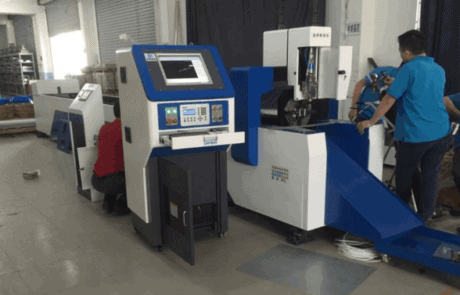 Table type metal laser tube cutting machine
