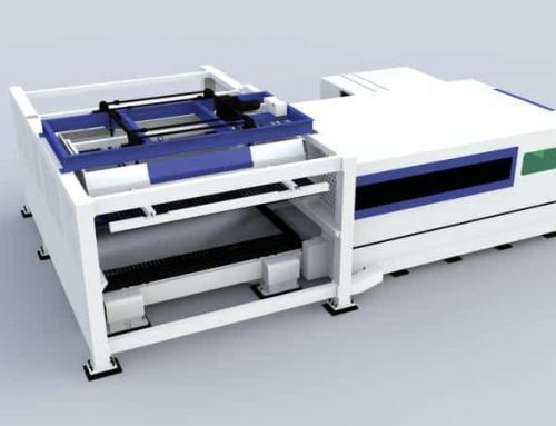 Fiber Laser Cutting Machine With Automatic Sheet Loading And Unloading Function