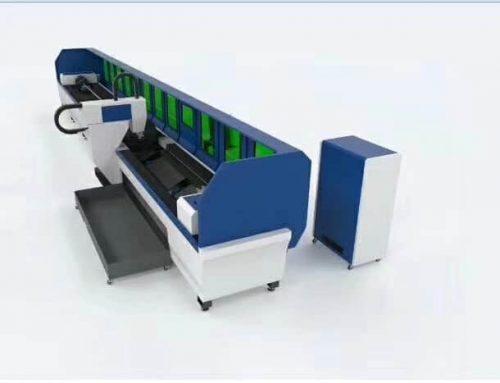 High Precision Pipe Laser Cutting Machine
