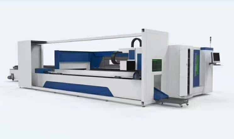 Sheet and Tube fiber laser cutting machine