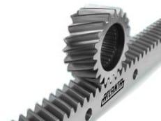 Gear for laser cutting machine