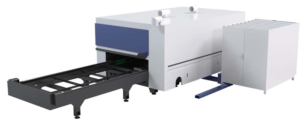 cortadora láser de fibra de alta potencia