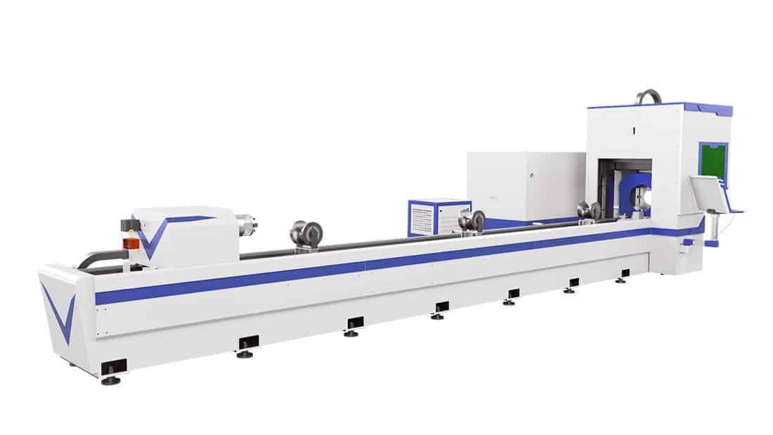 laser de fibra de tubo