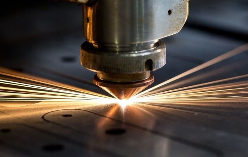 Figure 1 Laser Cutting Process