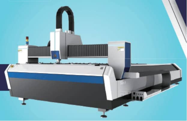 Figure 7 Fiber laser cutting machine