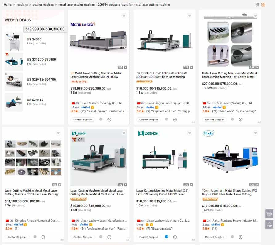 Figure 8 – Can You Find Metal Laser Cutting Machines For Sale_